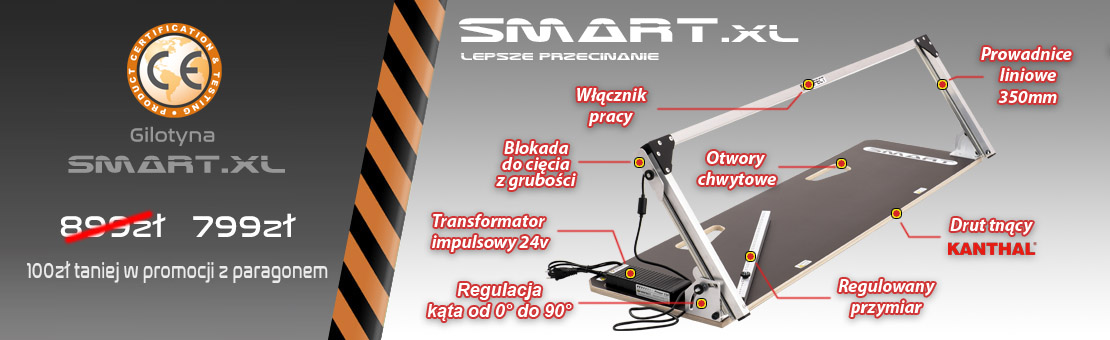 Gilotyna do styropianu Smart xl